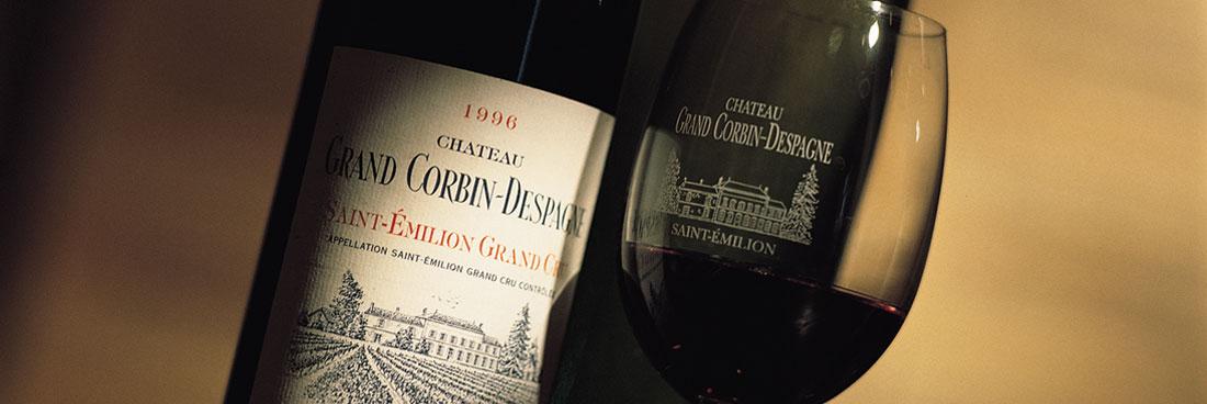 Millésimes Château Grand Corbin-Despagne